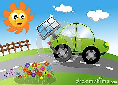 Eco Cartoon Car