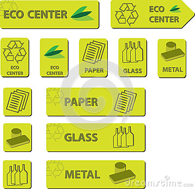 Eco Center Icons