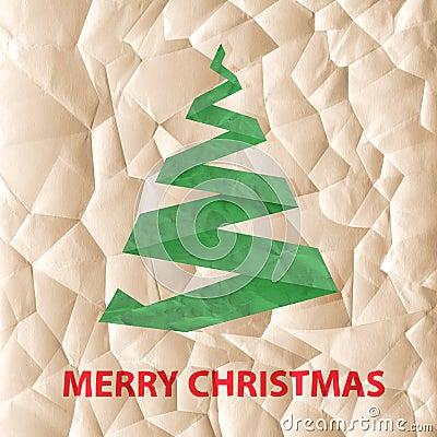 Eco Christmas greeting