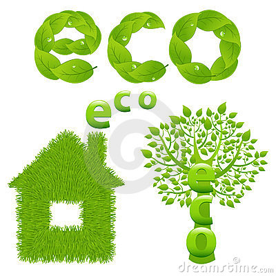 Eco Design Elements. Vector