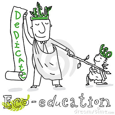 Eco education,  drawing