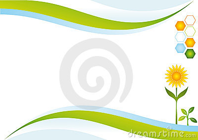 Eco energy background.