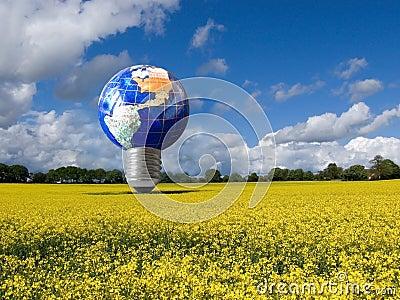 Eco energy light bulb