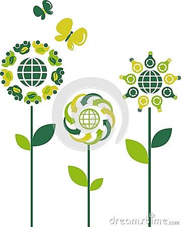 Eco flowers - 3