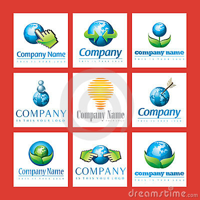 Free Eco Friendly Company Logos Stock Photo - 14055910
