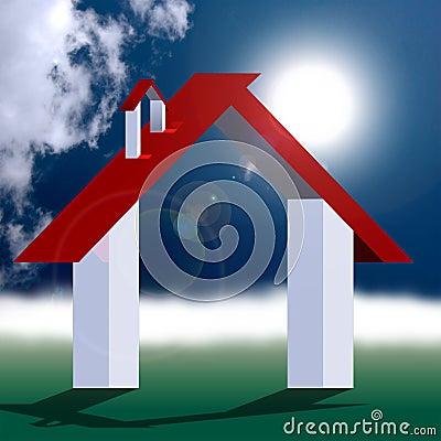 Eco friendly house