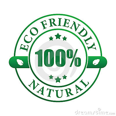 Eco friendly natural label