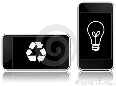 Eco-friendly smart phone