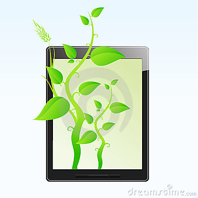 Eco friendly tablet pc