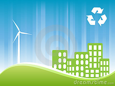 Eco friendly town