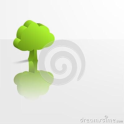 Eco green design.
