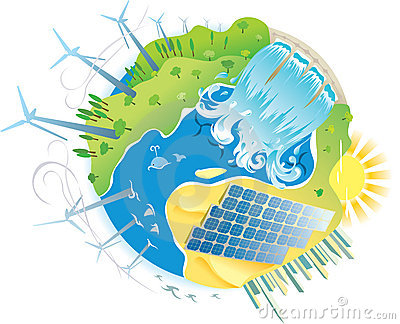 ECO green power planet
