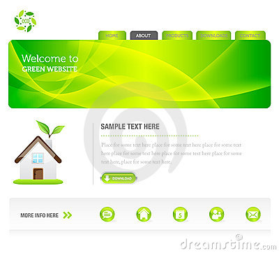 Eco Green Website