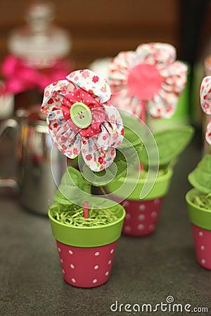 Free Eco Handmade Flower Stock Photos - 57285823
