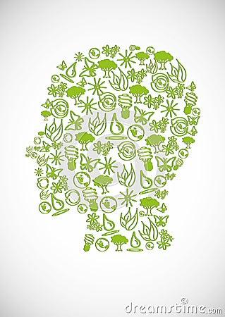Eco huvud