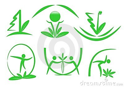 Eco icons, cdr vector