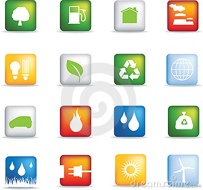 Eco icons square