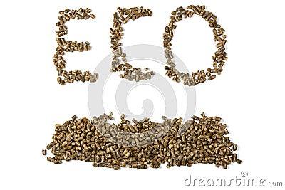 Eco inscription