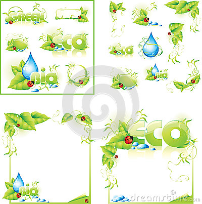 ECO layout concept design background