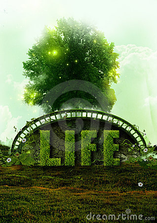 Eco Life and nature concept