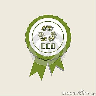 Eco medalj