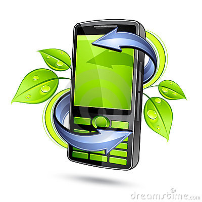 Eco mobile telephone