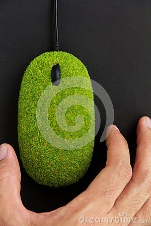 Free Eco Mouse Concept Royalty Free Stock Image - 27013046