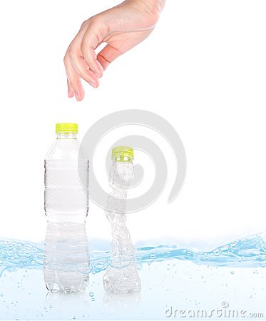 Eco plastic Bottles.