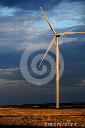 Eco power at night