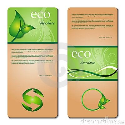 Eco promotion brochure