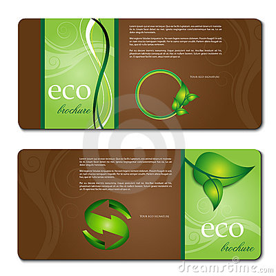 Free Eco Promotion Brochure Stock Photo - 20575510