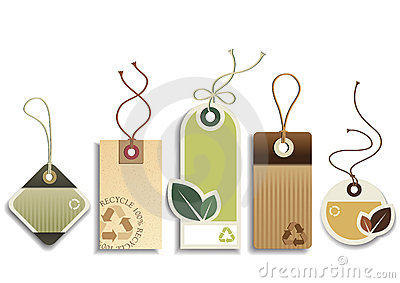 Eco recicl Tag