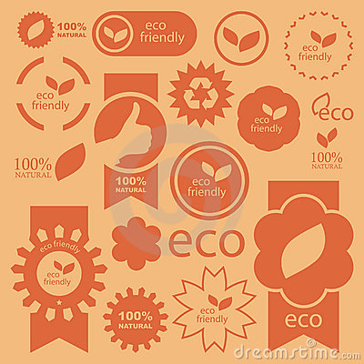 Free Eco Signs. Stock Image - 18426821