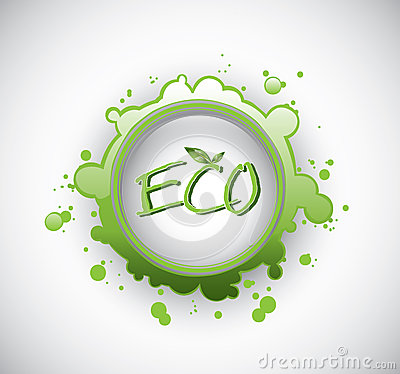 Eco splash stamp