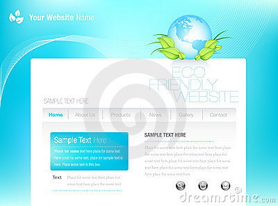 Eco-style Website