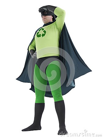 Eco superhero