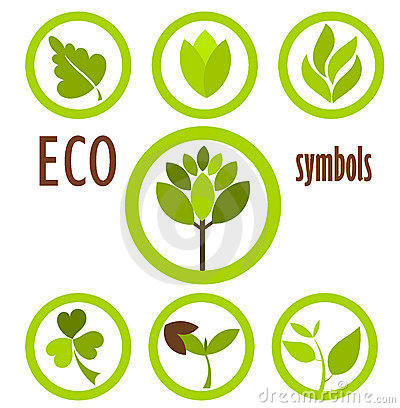 Free Eco Symbols Collection Royalty Free Stock Images - 20080839