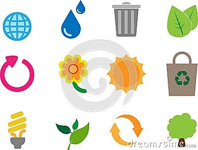 Eco theme icon pack