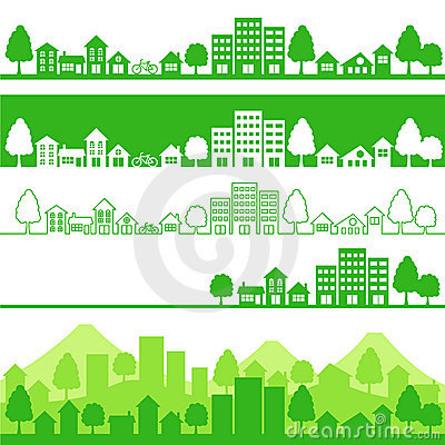 Free Eco Town Stock Photos - 16186003