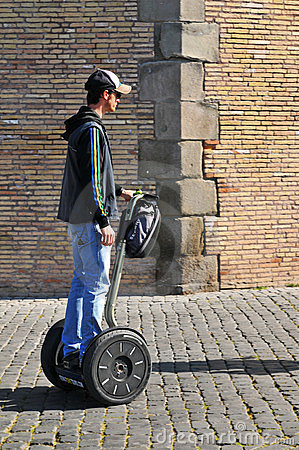 Eco transportation Editorial Stock Photo