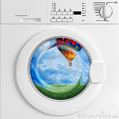 Eco washing machine