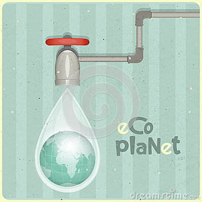 Eco water planet
