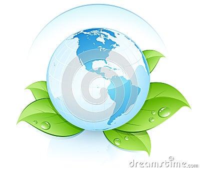 Eco World globe