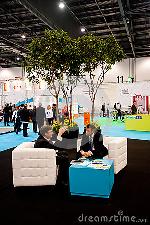 Ecobuild 2013 in London Editorial Stock Photo