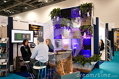 Ecobuild 2013 in London Editorial Photo