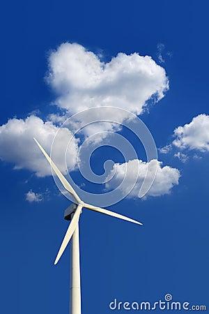 Ecofriendly wind turbine