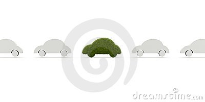 Ecological car from grass