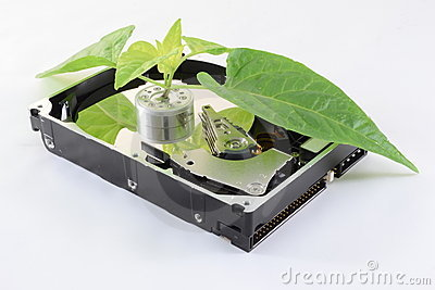 Ecological hard disk