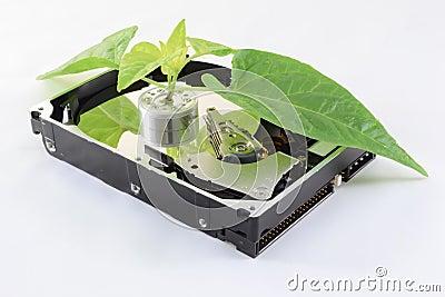 Ecological hard disk
