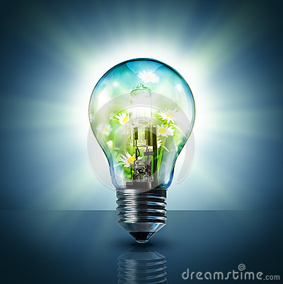 Ecological idea Stock Photo